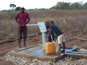 New Water Borehole pump installed.