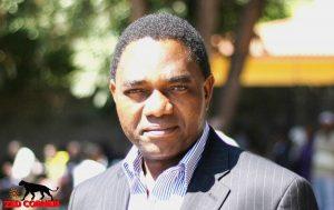 UPND Opposition Leader Hakainde-Hichilema